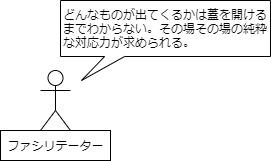 非構成的エンカウンターファシリテーター図